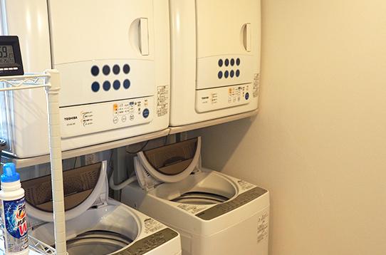 洗濯機・乾燥機もそれぞれ2台