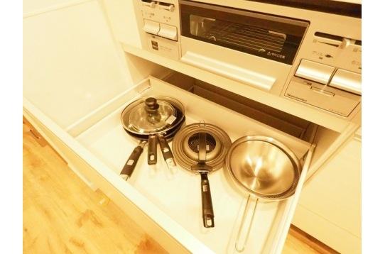 調理器具も揃っております