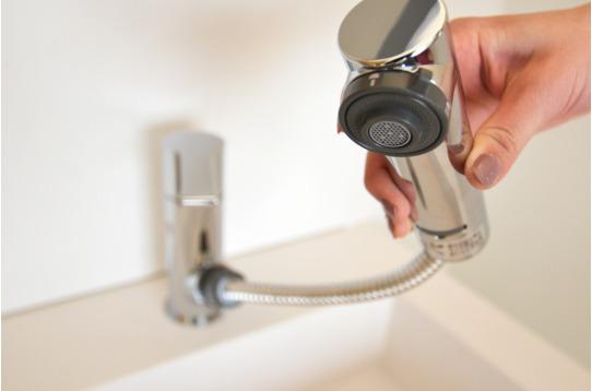 シャワーヘッドになっています!