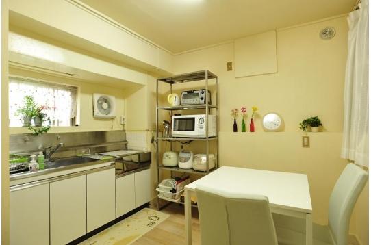 キッチンはいつも清潔です!
