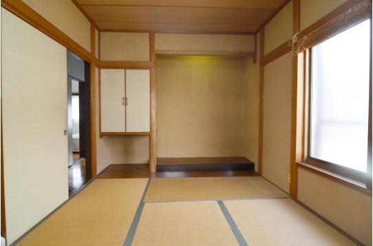 和室の個室です