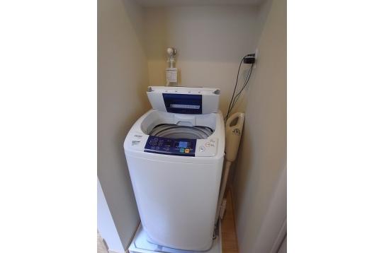 洗濯機は4台あります。内1台はペット用品可です。