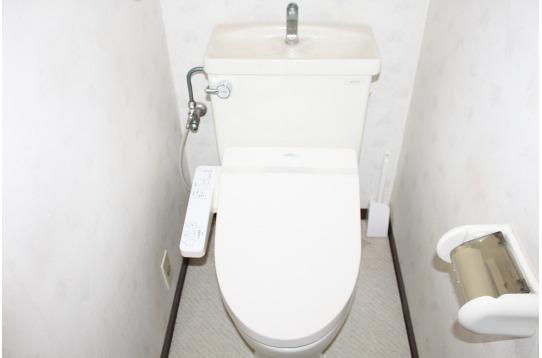 トイレです(1Fと2Fにそれぞれあります)