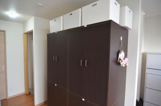 住人用の収納BOX