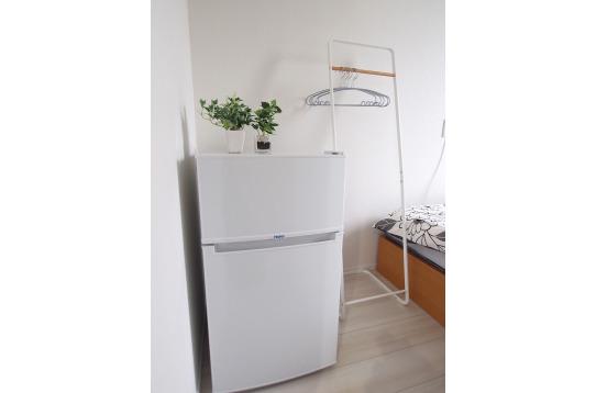 冷蔵庫も一人一台です!