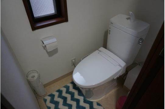 トイレはウォシュレット付きです!