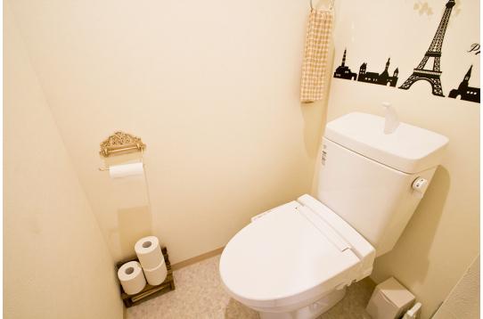 トイレの様子②。