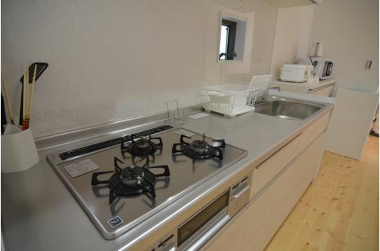 キッチンは1階と2階にひとつずつ。