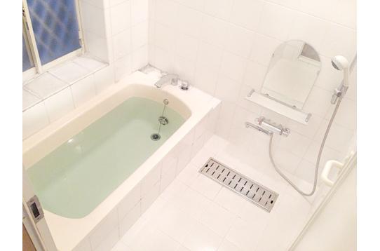 浴槽&シャワー24時間OK