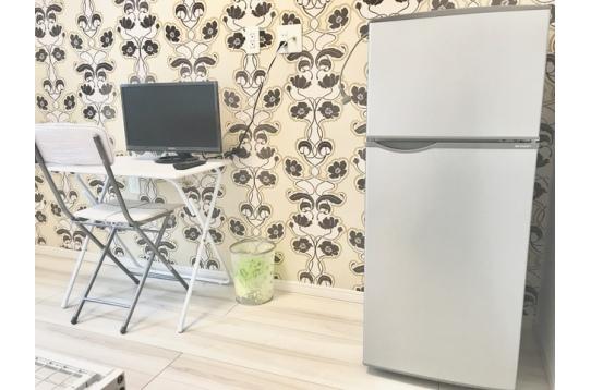 大きめの2ドア冷蔵庫♪