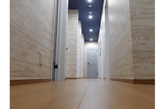 広い廊下がホテルのよう!