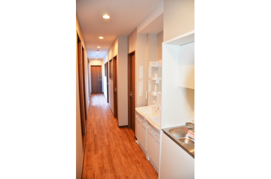 2階にもキッチンがあるのでとっても便利