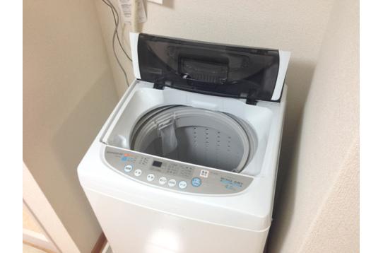 洗濯機は24時間利用可能♪