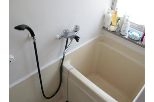 バスルーム、シャワー付き