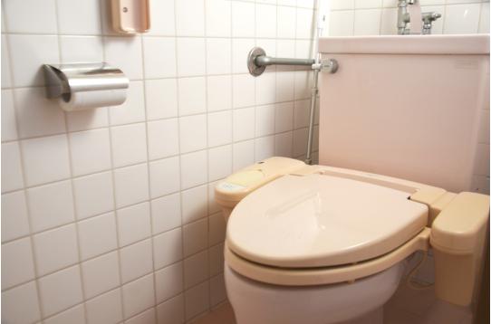 トイレも1つ