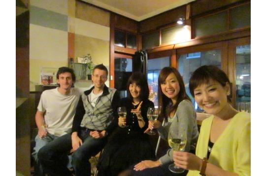住人主催のワイン会♪