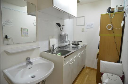 各階にキッチン・トイレ・シャワールーム