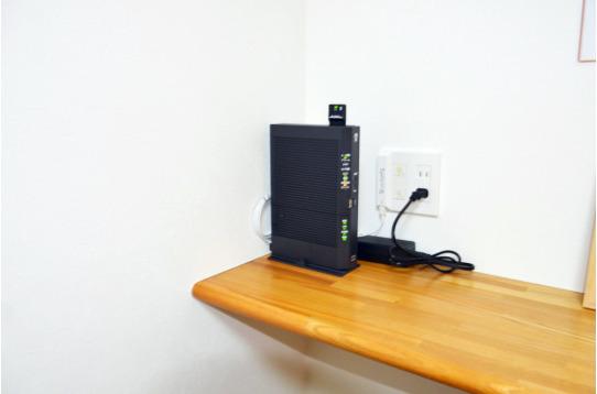 無線LAN完備。