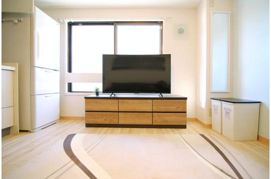 50インチの大画面TV