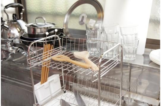 調理器具も充実しています
