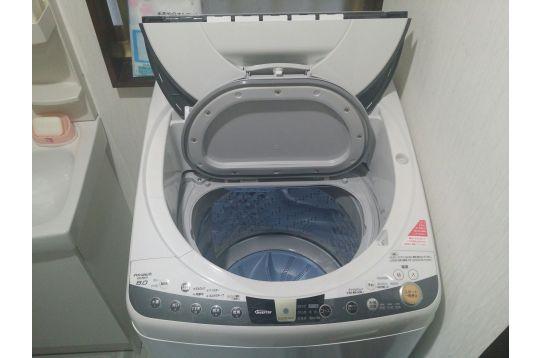 全自動洗濯機 温風乾燥機能付き(無料)