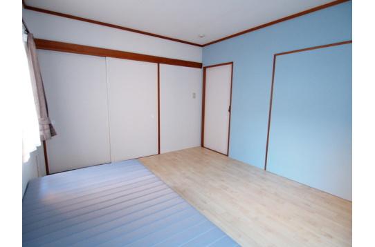 203号室の様子(約1畳収納)
