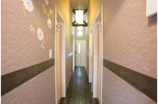 ハウス内廊下の様子です