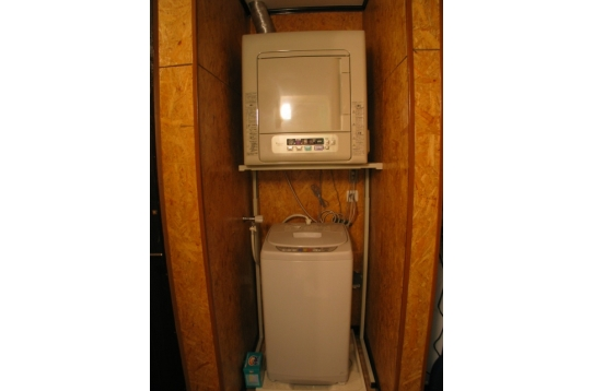 無料乾燥機、無料洗濯機