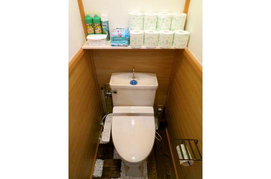 トイレは2個あるので混みません♪