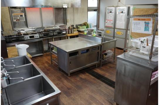 世界各国の料理が作られるキッチン♪