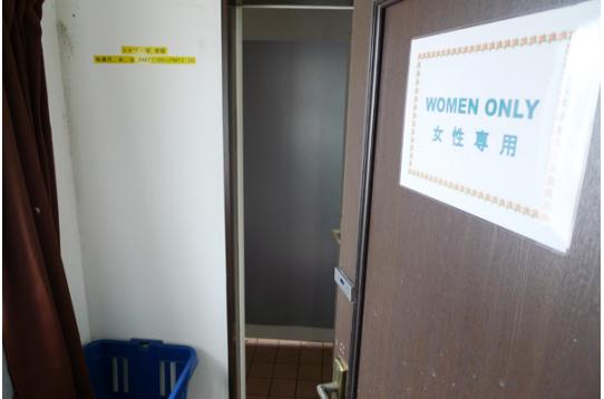 ●女性専用シャワー室