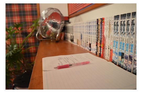 本もたくさんありますよ〜