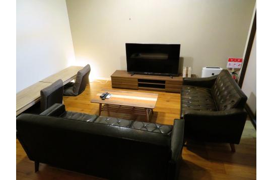 レトロな家具で揃えてます♪