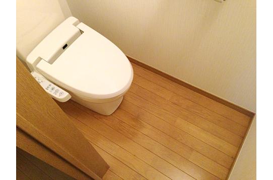 ウォッシュレット機能付きトイレ