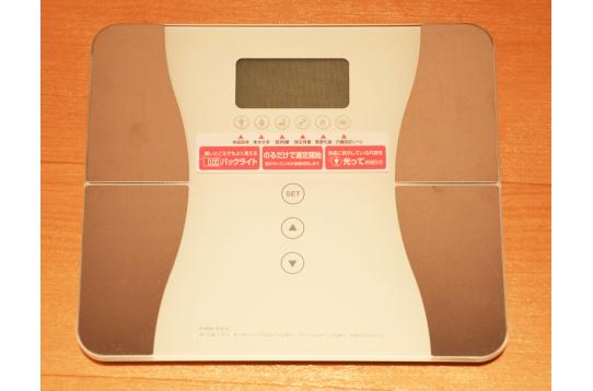 共用の体重計もあります!