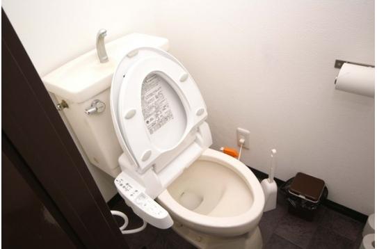 トイレは当然ウォシュレット!