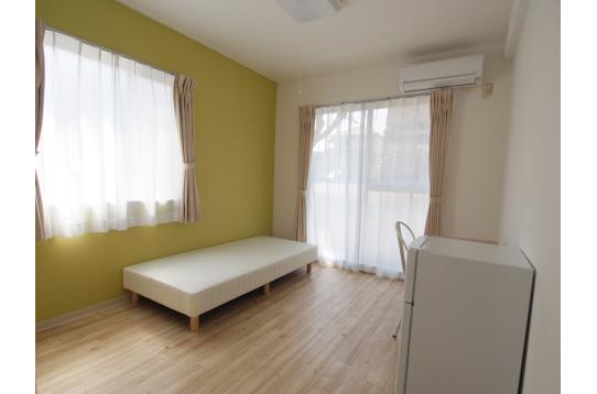 どの部屋も8畳以上で広さ十分。