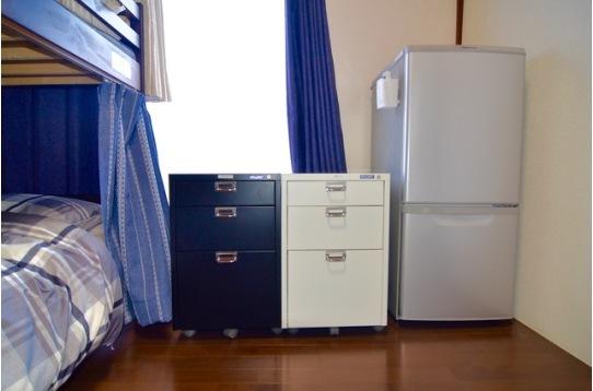 鍵付きロッカー Room-B冷蔵庫