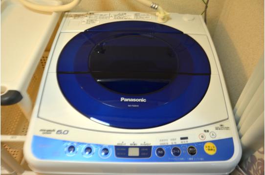 洗濯機は1台。