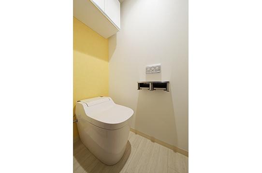 お手洗いはハウス内に5室