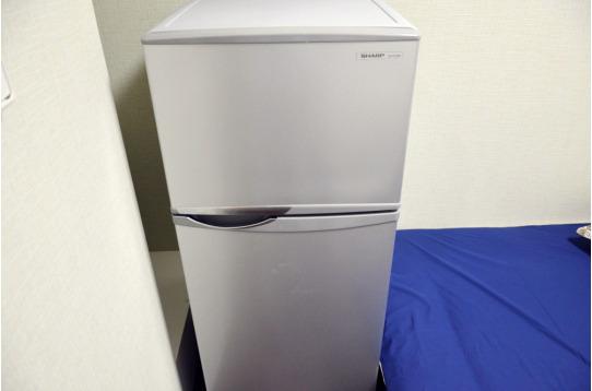 各室に自分専用の冷蔵庫があります