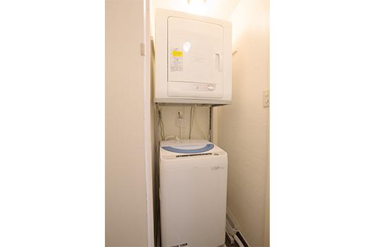 洗濯機・乾燥機も完備