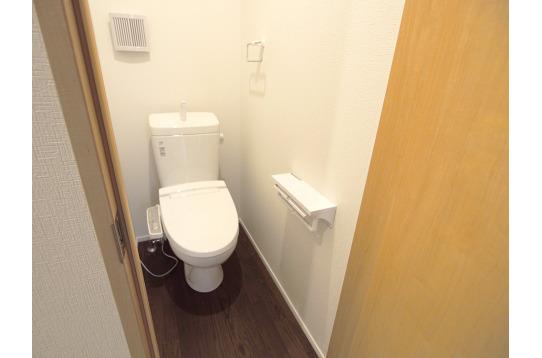 清潔なトイレ。