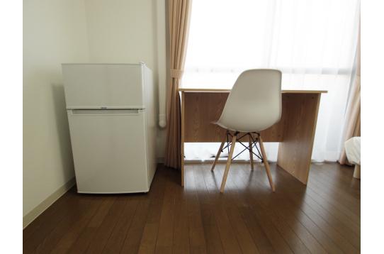 個室に冷蔵庫も完備です!