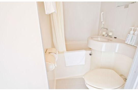 各部屋にトイレとバス&シャワー完備
