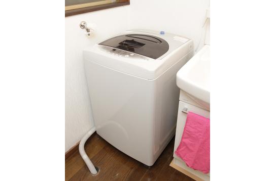 洗濯機も完備♪