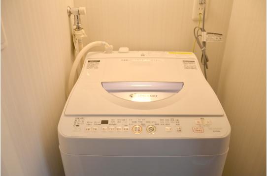 洗濯機もご利用頂けます