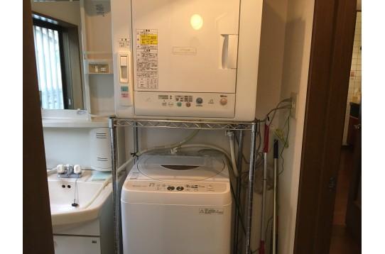 洗濯機、乾燥機は無料で梅雨対策万全