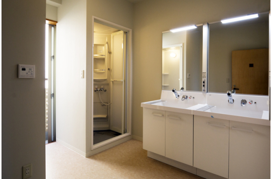2.3階各フロアのシャワー室