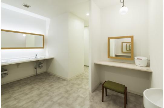 2Fは女性専用のビューティルーム完備。